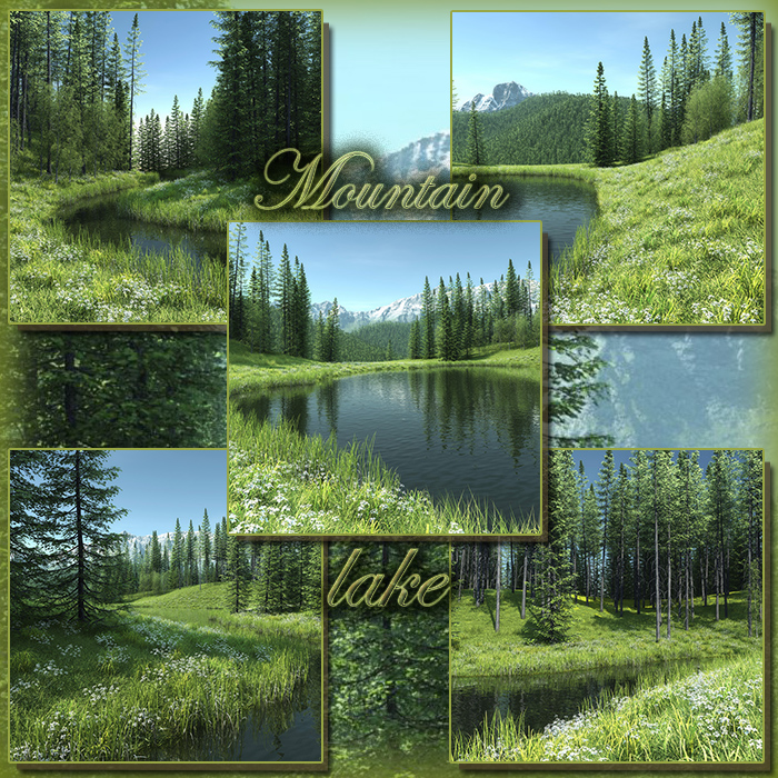 Mountain lake (FS/CU)