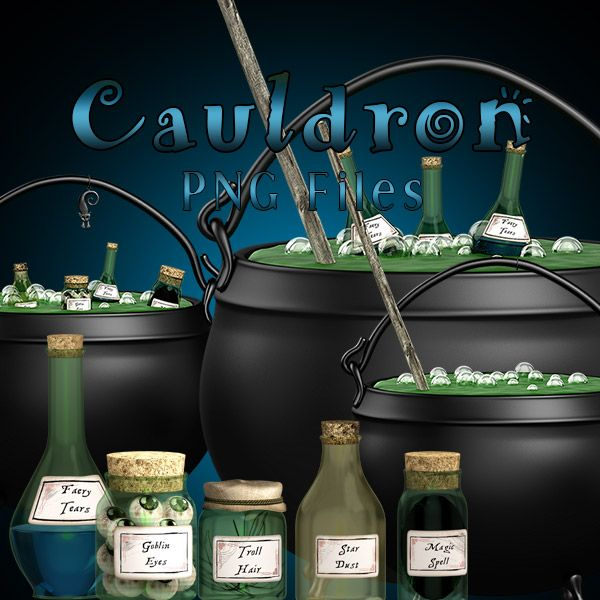 Cauldron - Witch pot (FS/CU)