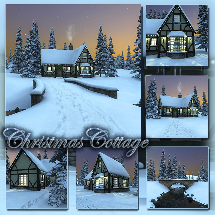 Christmas Cottage (FS/CU)
