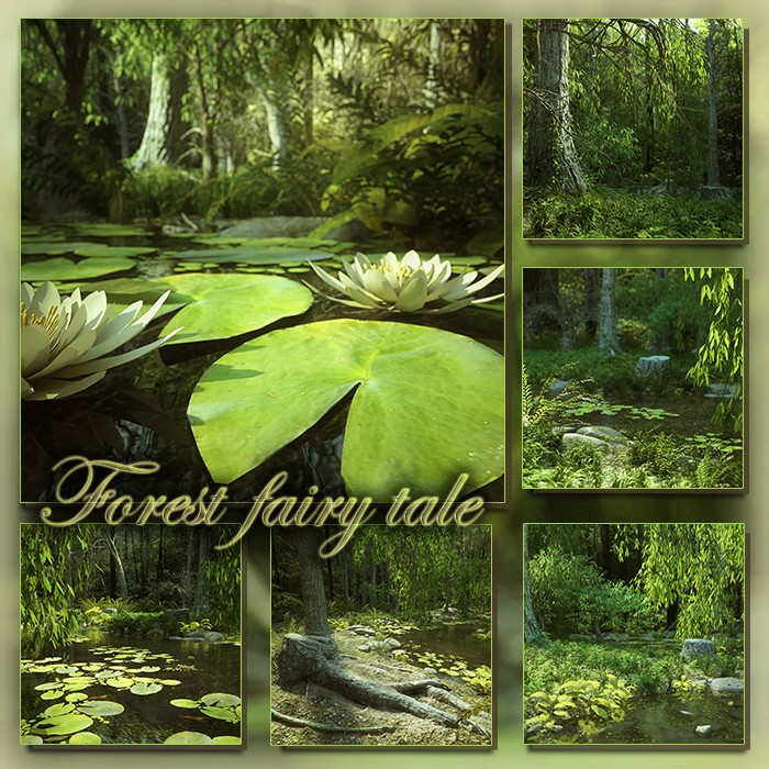 Forest fairy tale (FS/CU)