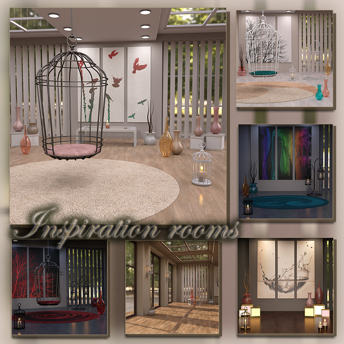 Inspiration Rooms (FS/CU)
