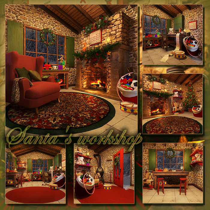 Santa's workshop (FS/CU)