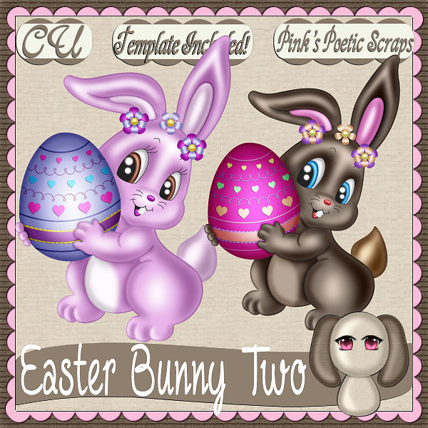 Easter Bunny Two (FS/CU/TEMPLATE/PSP SCRIPT)