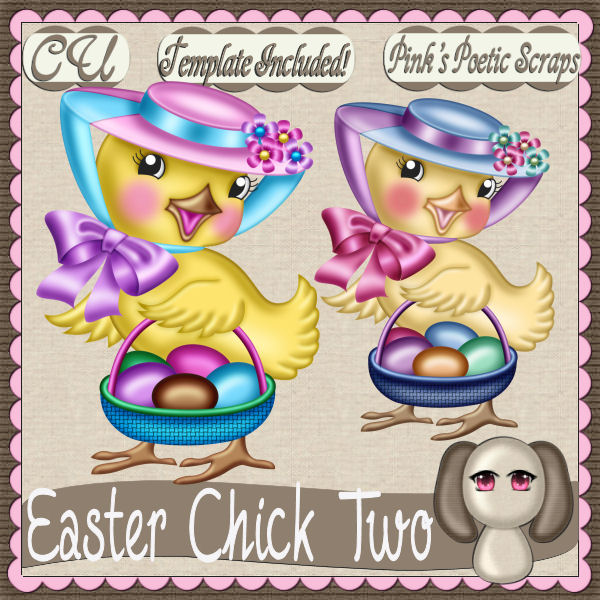 Easter Chick Two (FS/CU/TEMPLATE/PSP SCRIPT)