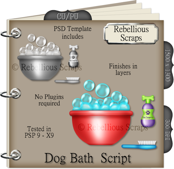 Dog Bath (FS/CU4CU/TEMPLATE/SCRIPT)