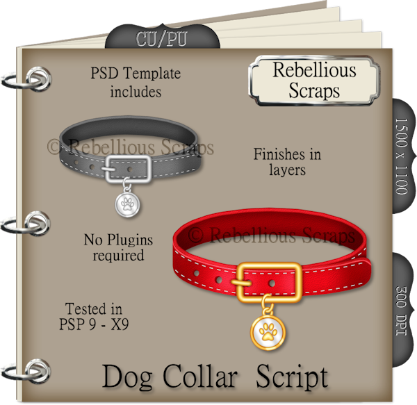 Dog Collar (FS/CU4CU/TEMPLATE/SCRIPT)