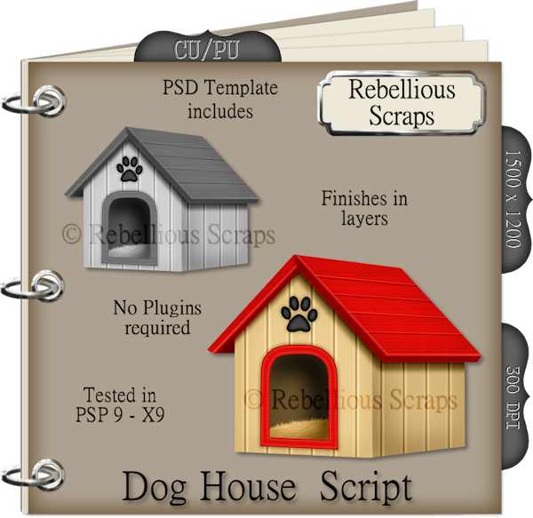 Dog House (FS/CU4CU/TEMPLATE/SCRIPT)