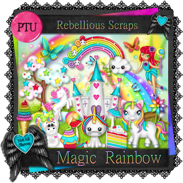 Magic Rainbow (TS/PU)