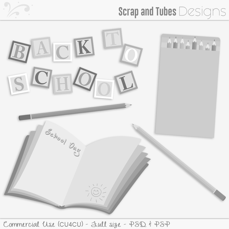 Back To School Templates (FS/CU4CU)