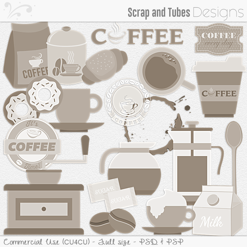 Coffee Templates (FS/CU4CU)