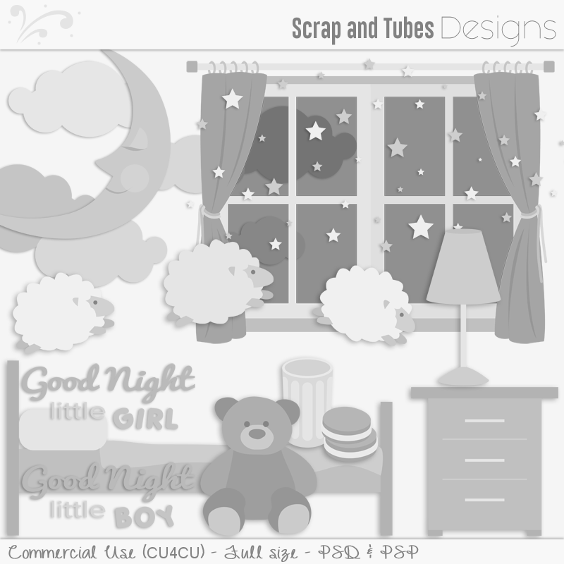 Good Night Templates (FS/CU4CU)