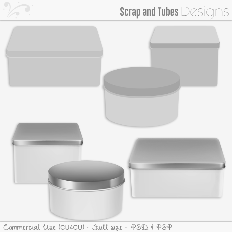 Metallic Box Templates (FS/CU4CU)