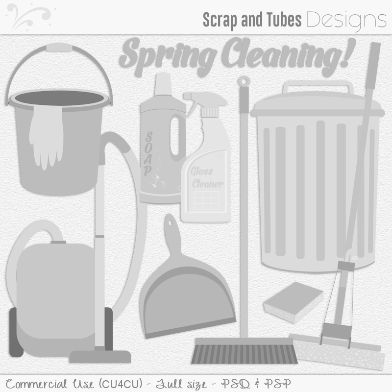 Spring Cleaning Templates (FS/CU4CU)