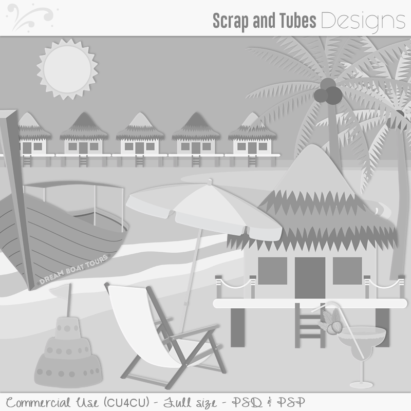 Tropical Island Templates (FS/CU4CU)