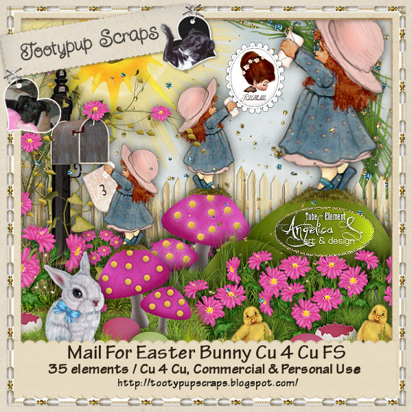 Mail For Easter Bunny CU 4 CU FS