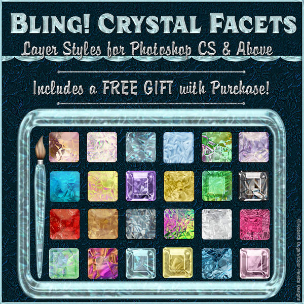 BLING! Crystal Facets PS Styles w/Gift (CU4CU)