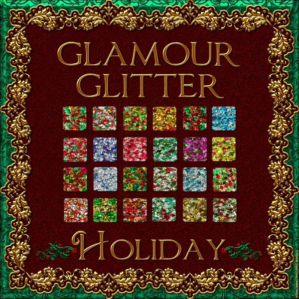 Bling! Glamour Glitter-Holiday PS Styles (CU)