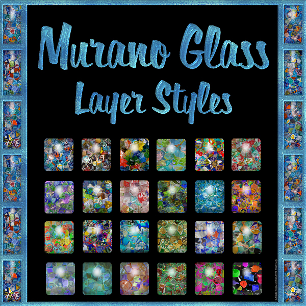 Murano Glass PS Layer Styles (CU)