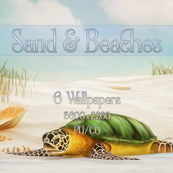 Sand an Beaches Wallpapers (FS/CU)