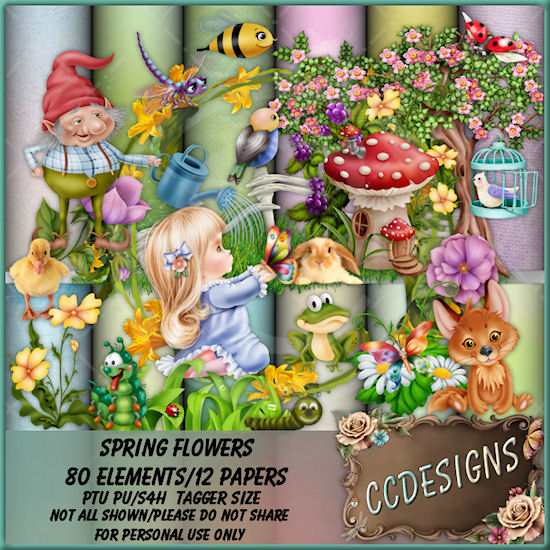 Spring Flowers (TS/PU/S4H)