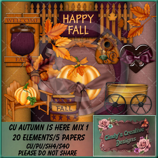 CU Autumn Is Here Mix 1 (TS/CU/S4H)
