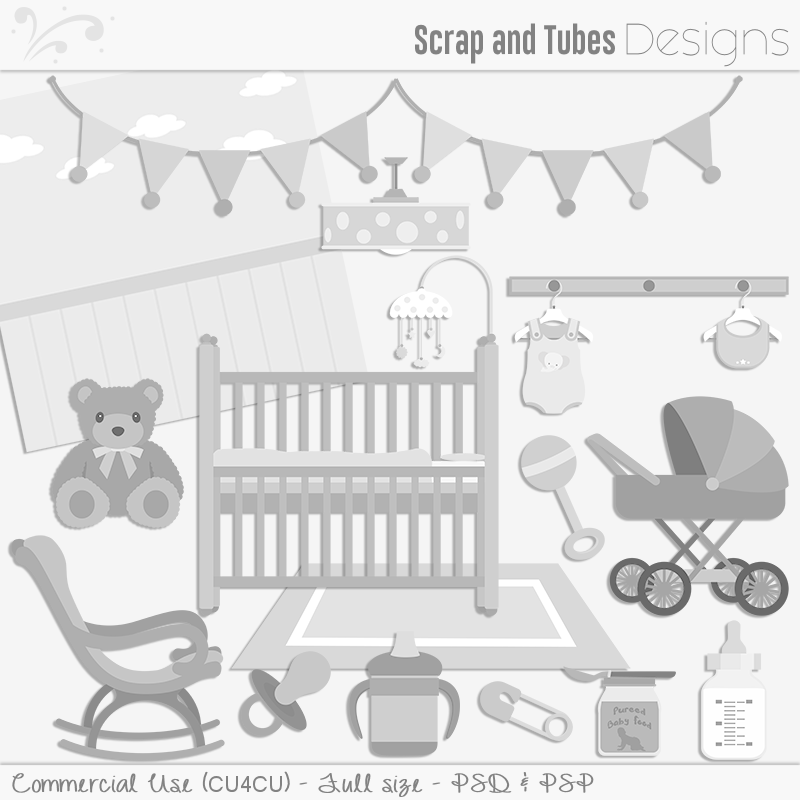Nursery Room Templates (FS/CU4CU)